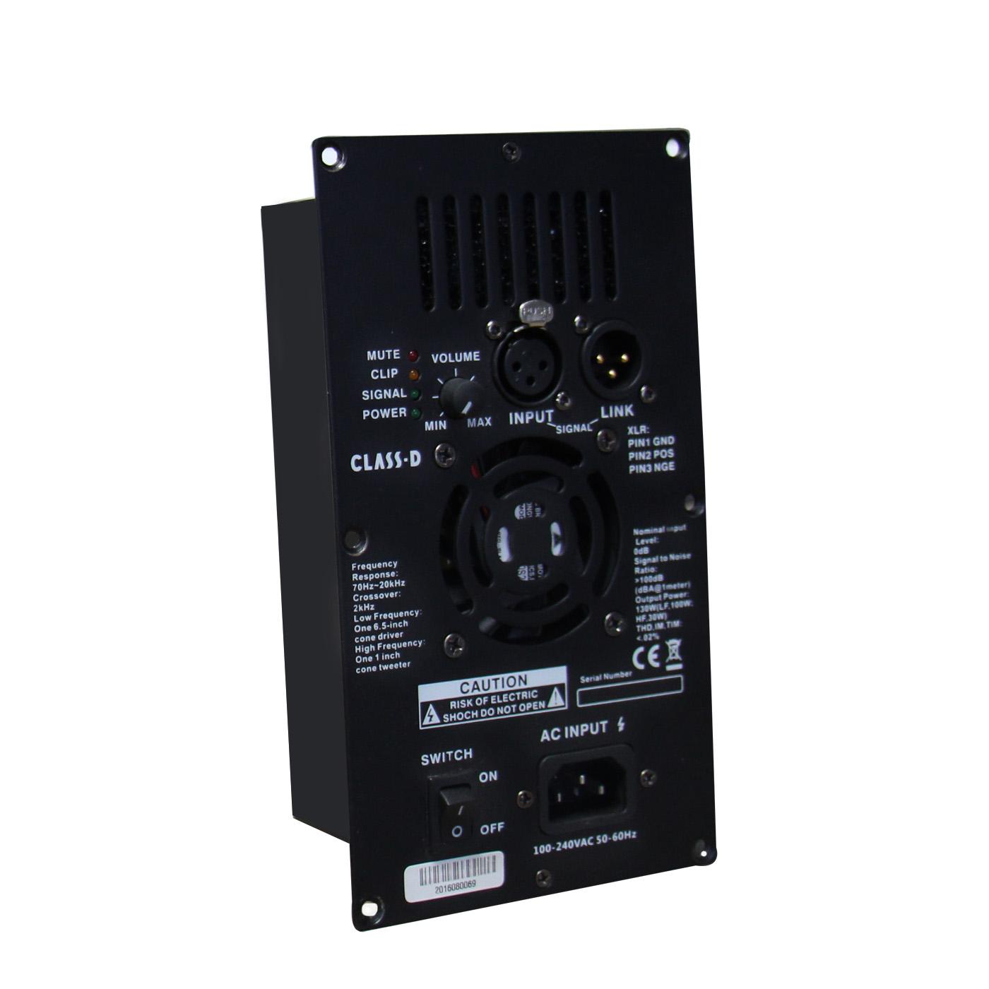 D1-150W Single Channel 150 Watts Class D Powered Module