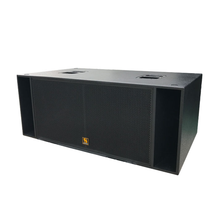 "RS18 Sub-Bass Loudspeaker System With Two 18"" Long Excursion Drivers"
