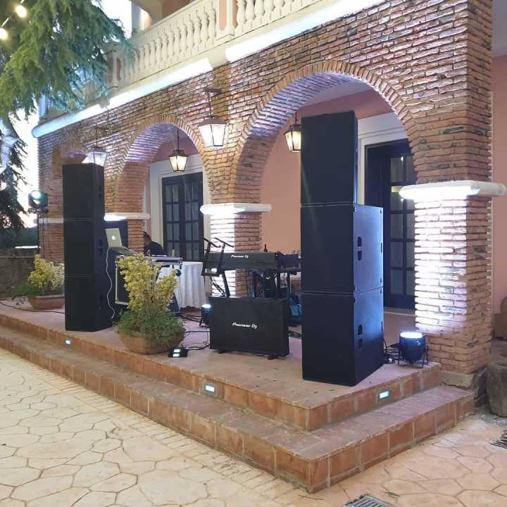 Sanway T24N Speaker and B30 Subwoofer Provide Memorable Sound at a Wedding