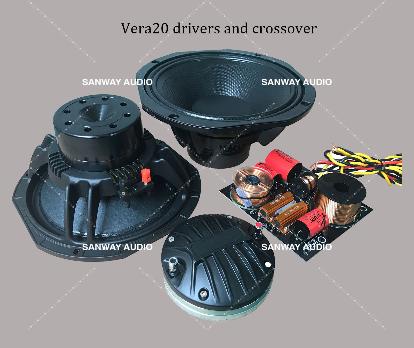VERA20 drivers and crossover