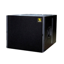 "Q-SUB Single 18"" Pro Audio PA Subwoofer Box Design"